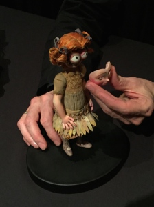 Director Anthony Stacchi showed the many layers of the dolls